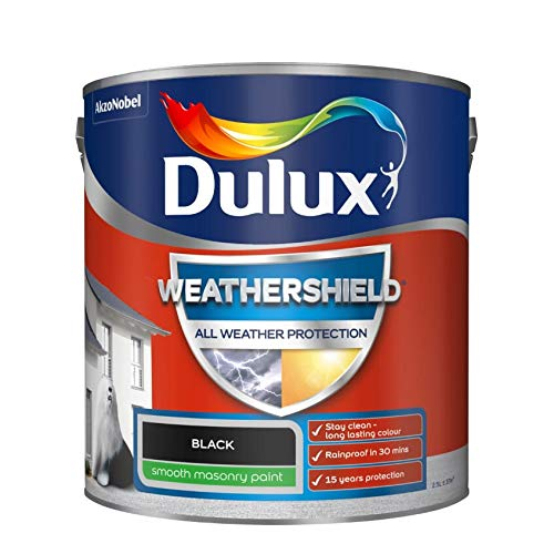 Dulux All Weather Protection Smooth Masonry - 2.5L - Black