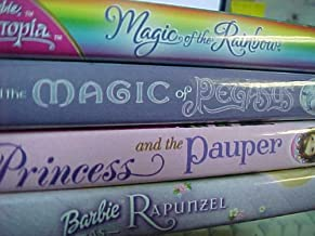 Barbie 4 Pack Collection : Magic of the Rainbow, Magic of Pegasus , Barbie As Rapunzel , Barbie As the Princess and the Pauper