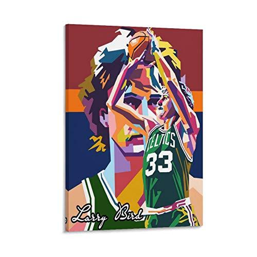 BUGUAN 2 lienzos artísticos de baloncesto para la pared con imagen impresa moderna para la habitación familiar, 50 x 75 cm