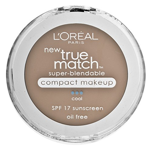 L'Oreal Paris True Match Super-Blendable Compact Makeup, Soft Sable, 0.30 Ounces by L'Oreal Paris Cosmetics