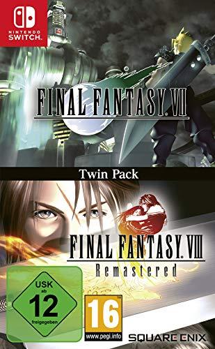 Final Fantasy VII & Final Fantasy VIII Remastered Twin Pack (Nintendo Switch)