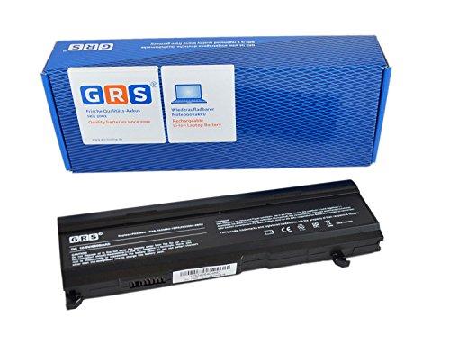 GRS Batterie avec 6600mAh pour Toshiba Satellite M40 M50 A100 A80 Dynabook CX TX Tecra A3 A4 A5 A6 A7 remplacé: PA3399U-1BAS, PA3399U-1BRS PA3399U-2BAS PA3399U-2BRS PA3478U-1BRS