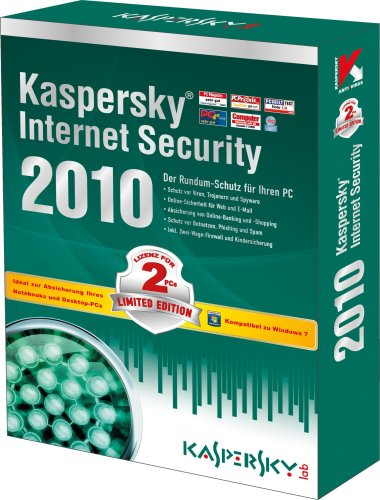 Kaspersky Internet Security 2010 Limited Edition 2 User 1 Jahr [Import allemand]
