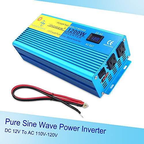 IpowerBingo Pure Sine Wave Power Inverter for Boat