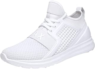 Respctful ◉Sneakers Slip On Outdoor Sport Shoes Lace-Up Sneakerbreathable Athletic Running Walking Gym Shoes