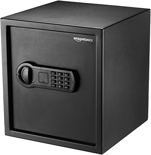 AmazonBasics Home Keypad Safe 1.2 Cubic Feet