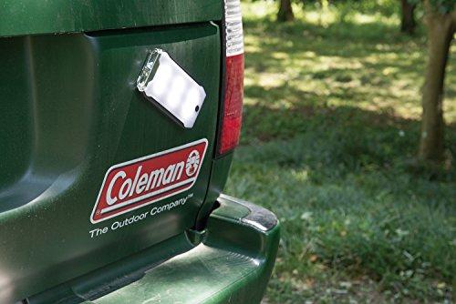 コールマン(Coleman)ランタンクアッドマルチパネルランタンLED乾電池式約800ルーメンレッド2000031270