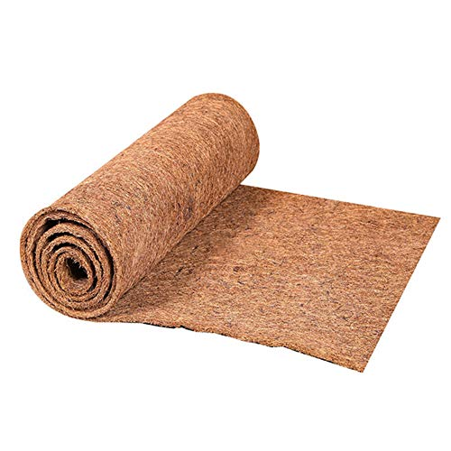 TTFLY Reptilien-Teppich, Kokosfaser, Schildkröten-Teppich für Haustier, Terrarium, Reptilienbedarf für Eidechse, Schlange, Chamäleon