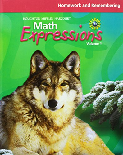 Math Expressions Homework And Remembering Workbook Volume 1 Grade 6
