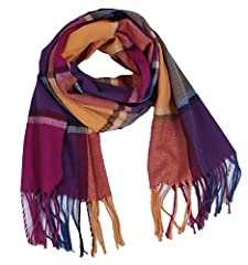 SIZE: 74L*13.7W Inches Parent-child Scarf,Can be used for whole family Soft and close to the skin, the manufacturers commitment does not fade, no pilling Fashion and very warm **Includes: A Frosted Dust bag signature Wander Agio**