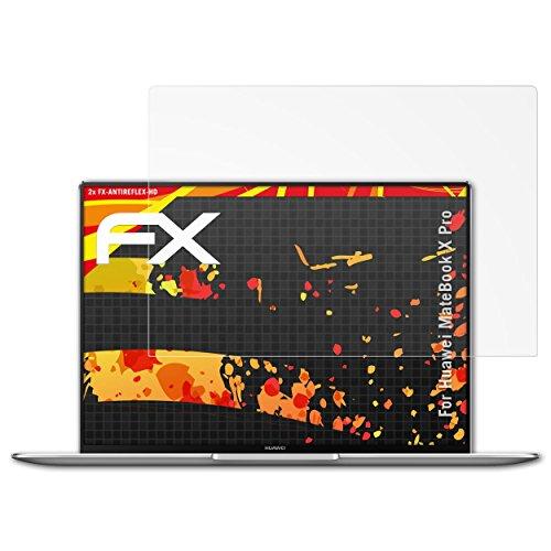 Schutzfolie kompatibel mit Huawei MateBook X Pro Displayschutzfolie, HD-Entspiegelung FX Folie (2X)