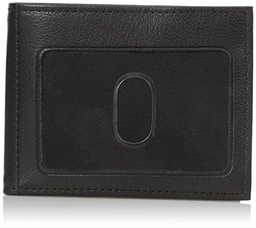 Buxton Men's Mountaineer Credit Card Billfold, Black, One Size