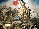 Poster 40 x 30 cm: Die Freiheit führt das Volk von Eugene