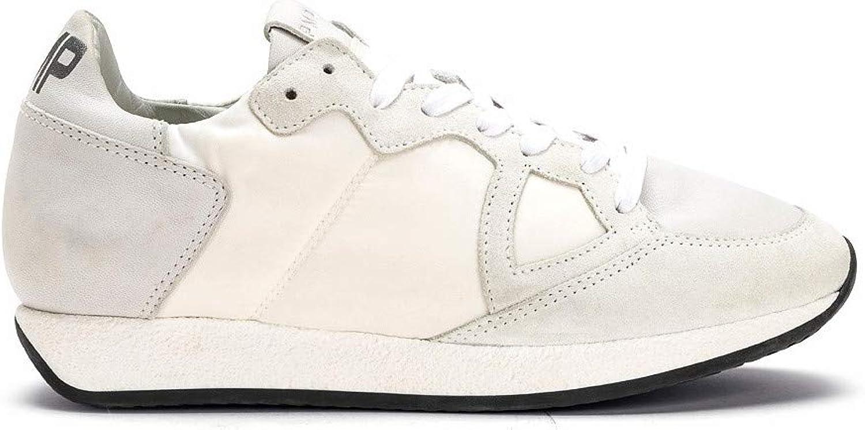Philippe Model , Damen Turnschuhe Weiß Weiß Weiß  neueste Styles