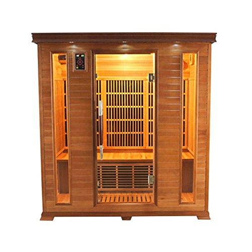 Sauna infrarrojos 4 personas lujo LUXE4