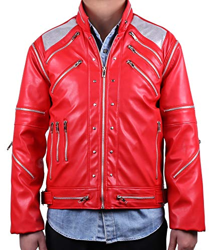 MJB2C - Michael Jackson マイケルジャクソン Beat it Jacket 今夜はビート・イット ジャケット (XXL)