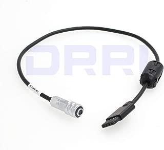 DRRI Blackmagic Pocket Cinema Camera 4K BMPCC BMD to DJI Ronin S Power Supply Cable