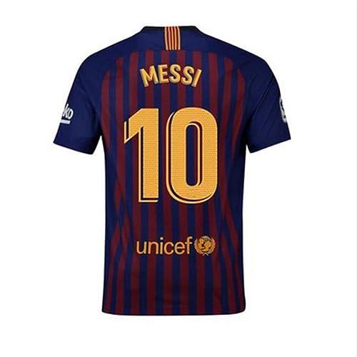 50ef11de5 CRVSMESS1 Barcelona  10 Messi Home Mens 2018-2019 Season Soccer Jerseys  Color Red