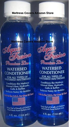 Premium Waterbed Conditioner By Aqua Fusion In 4oz clear bottles