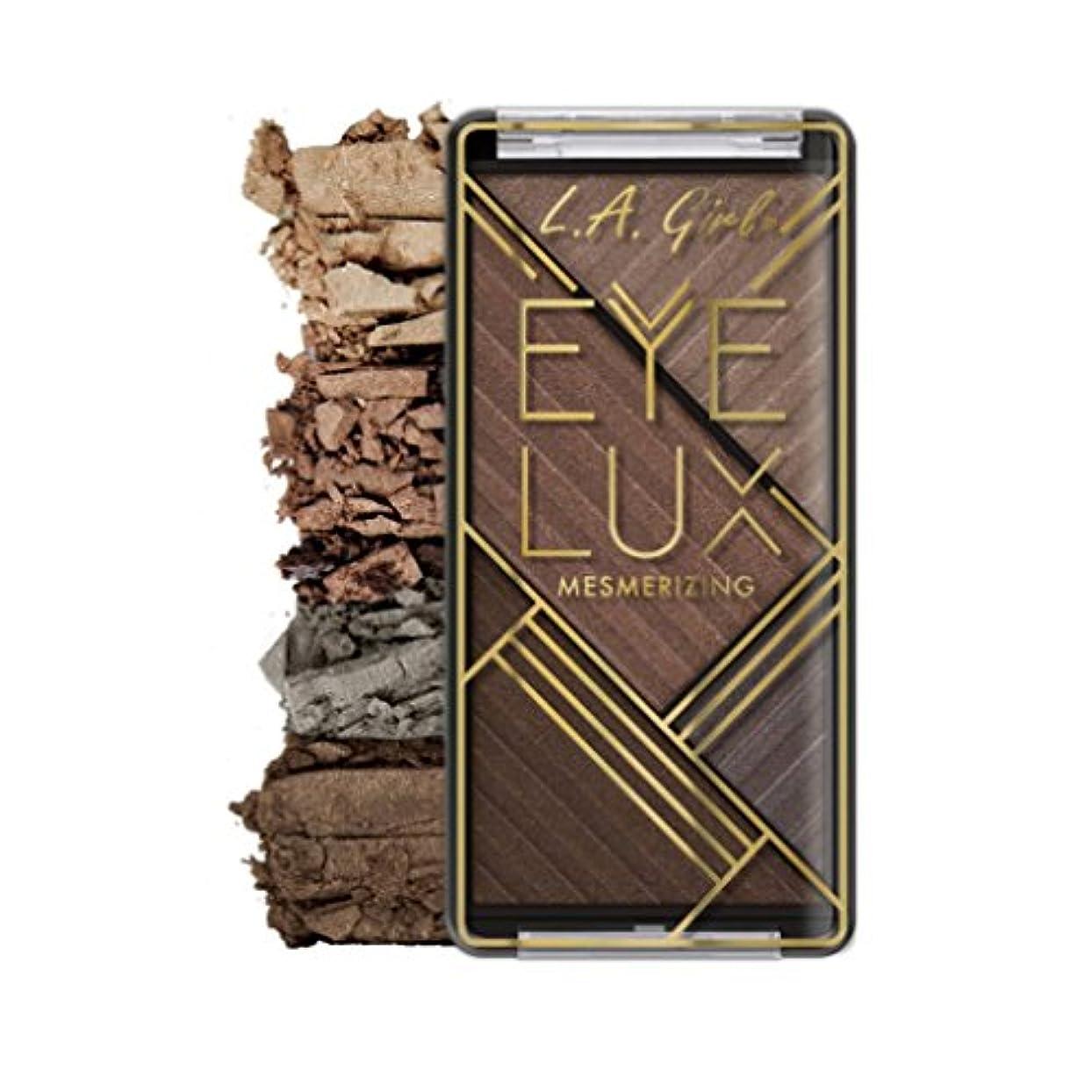 誇張才能血色の良い(6 Pack) L.A. GIRL Eye Lux Mesmerizing Eyeshadow - Socialize (並行輸入品)