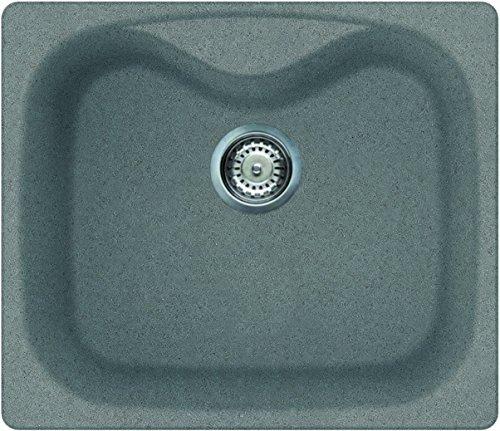 Elleci Master 500 Granito Fregadero Granito, Avena, 2 senos, 340 x 430 mm, 340 x 430 mm, 3,5 cm