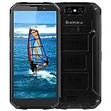 Blackview BV9500 Plus Telephone Portable Incassable, Ecran FHD+5.7 Pouces, 10000mAh Grande Batterie, Charge sans Fil, Cameras 16MP+13MP, 64Go ROM, NFC/GPS/4G Telephone Resistant IP68/IP69K - Noir