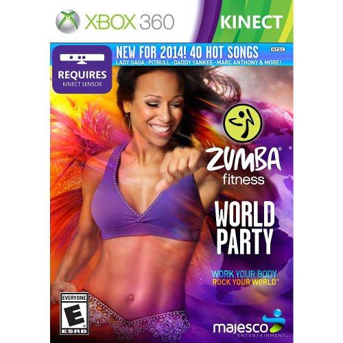 Majesco Zumba Fitness World Party, Xbox 360 - Juego (Xbox 360, Xbox 360, Fitness, RP (Clasificación pendiente))