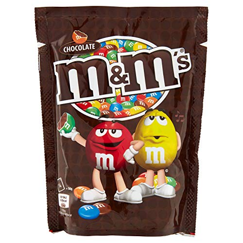 M&M Chocolate Candy | M&M's | Chocolate | Peso total 220 gramos