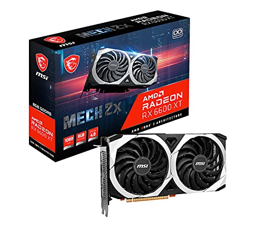 MSI Gaming AMD Radeon RX 6600 XT 128-bit...