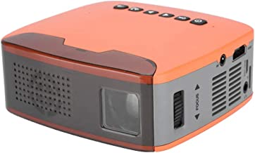 SoarUp Mini HD Projector, HD 1080P Projector, 15-110in Projection, 50000 Hours LED Lamp Lifetime, Compatible with AV/HDMI/USB/TF for Home Entertainment(US)