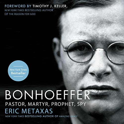 Bonhoeffer  By  cover art