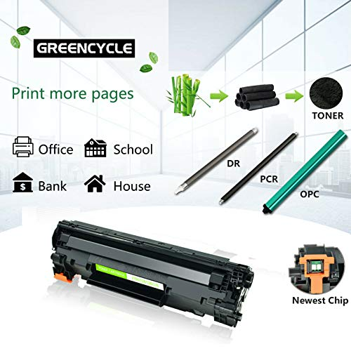 GREENCYCLE Compatible Toner Cartridge Replacement for Canon 126 CRG-126 CRG126 3483B001 for use in ImageClass LBP6200d and LBP6230dw LBP-6230dn LBP-6230 Wireless Laser Printers (Black,2 PK) Photo #8