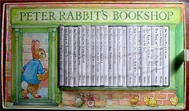 Mini Peter Rabbit Bookshop: Mini Books 1-23 (Beatrix Potter Read & Play)