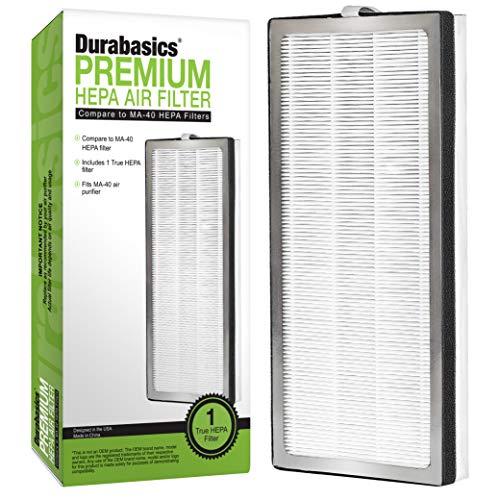 Durabasics HEPA 13 Filter for Medify MA-40, Medify MA-40 Replacement Filter, Medify MA 40, Medify Air Purifier Filters & MA-40 Replacement Filter - Part ME-40 & ME 40