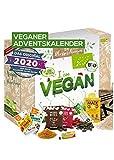 Calendario de adviento vegano 2020 calidad orgánica I calendario de adviento sin animales con 24 obsequios pasados para la temporada de adviento - calendario de adviento vegano