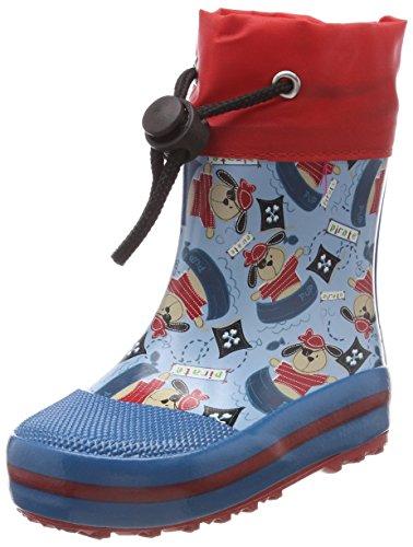 Beck Piraten, Stivali di Gomma Unisex-Bambini, Blu (Blau 34), EU