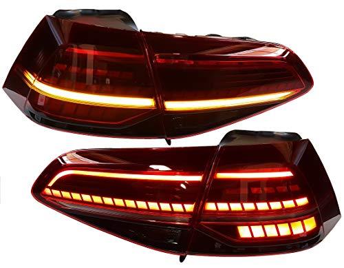 Golf 7 13-17 Rückleuchten Heckleuchten RV50TCLRSY dynamischer LED Blinker Laufblinker