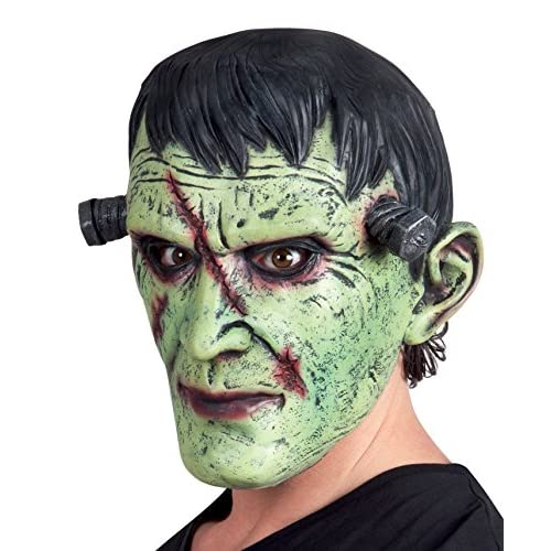 Boland- Maschera Frankenstein Monster in Lattice per Adulti, Verde, Taglia Unica, 97514