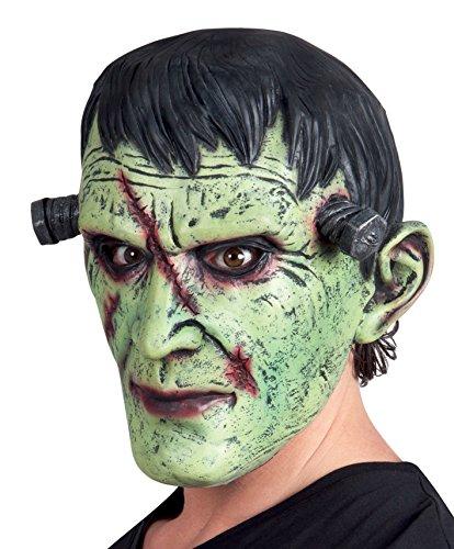 Boland 97514 Frankenstein Monster Masker van latex, groen, ONE SIZE