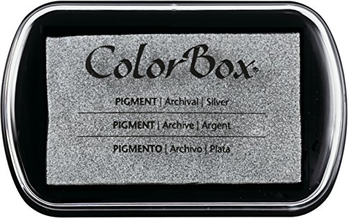 CLEARSNAP ColorBox Classic Pigment Metallic Full Size Inkpads, Silver
