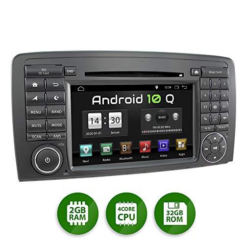 XOMAX XM-09ZA Radio de Coche con Android 10 Adecuado para Mercedes W251...