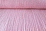 Qualitativ hochwertiger Double Gauze Baumwollstoff in Rosa