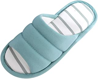 353088776 OPAKY Chanclas Unisex Damas Chicos Casa Rayada Suave Interior Zapatillas  Planas Flip Zapatos Casuales Verano Zapatillas