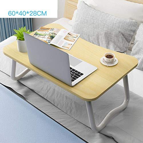 Klaptafel, bureau in de slaapkamer antislip laptoptafel draagbare tafel op bed bureau luier tafel slaapzaaltafel (kleur: A) C