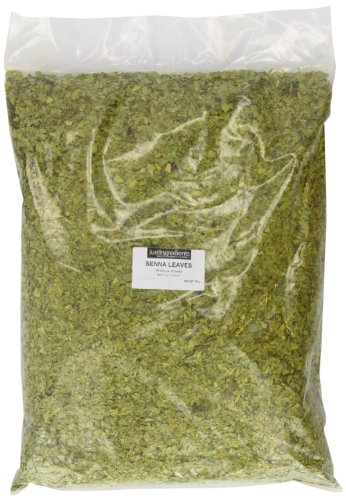 JustIngredients Sennablätter, Senna Leaves, 1er Pack (1 x 1 kg)
