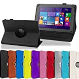NAUC Tablet Hülle für Odys Score Plus 3G Tasche Schutz-Hülle Cover Case Bag 360, Farben:Silber