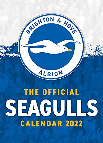 The Official Brighton and Hove Albion A3 Calendar 2022