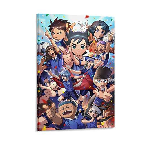 XIAOGANG Inazuma Eleven Orion No Kokuin Ares - Poster su tela e stampa artistica da parete, 60 x 90 cm