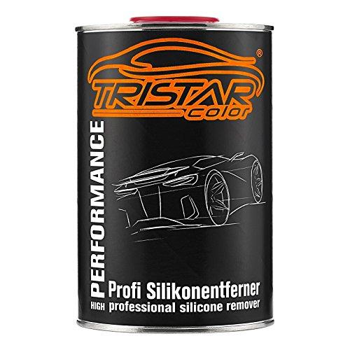 TRISTARcolor 1 Liter Silikonentferner Entfetter Reiniger für Autolack Basislack RAL Lack Grundierung