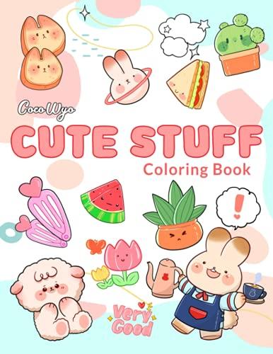 Cute Stuff Coloring Book: Coloring …